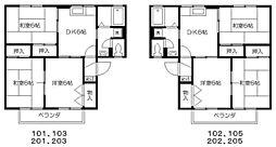 EAST NONAMI壱番館[1階]の間取り