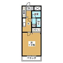 MITAKAマンション笠木[6階]の間取り