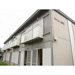 茨城県常総市相野谷町の賃貸アパートの外観