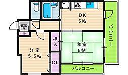 あゆみハイツ[2階]の間取り