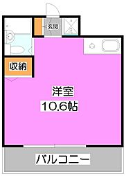 アンシャンテ志木[7階]の間取り