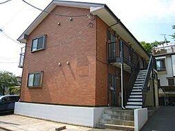 東京都町田市玉川学園7の賃貸アパートの外観