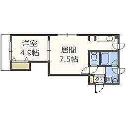アヴァンティ65[4階]の間取り