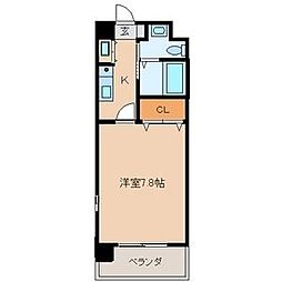 SANBOX 大浦[208号室]の間取り