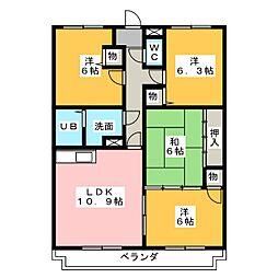 UNAX-II[1階]の間取り