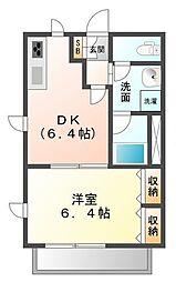 パークアレイ武庫川[1階]の間取り