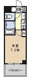エステムプラザ京都烏丸五条[1102号室号室]の間取り