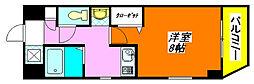 M'プラザ・高井田 806号室[8階]の間取り