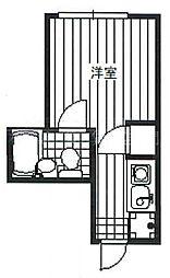 ブルックリンゲイト[2階]の間取り