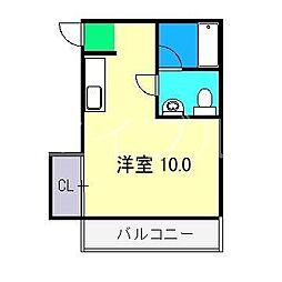 メゾン内藤[3階]の間取り