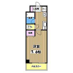 南新町マンション[3階]の間取り