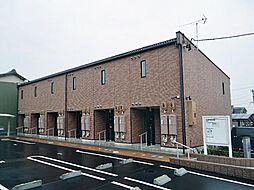 愛知県稲沢市平和町下起中の賃貸アパートの外観