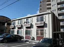 兵庫県姫路市飾磨区今在家4丁目の賃貸アパートの外観