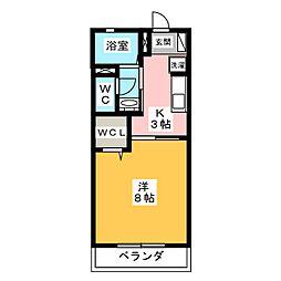 俳風[2階]の間取り