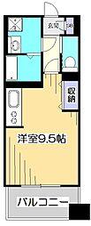 Kirinkan Garden[5階]の間取り