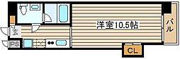 Wタワー江戸堀[3階]の間取り