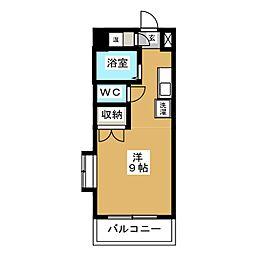 ファースト吉川[2階]の間取り