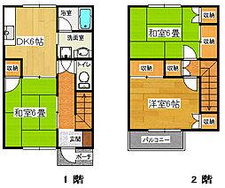 [一戸建] 静岡県三島市徳倉3丁目 の賃貸【静岡県 / 三島市】の間取り