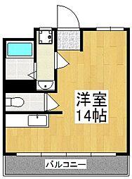宮田ビル[3階]の間取り