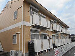 茨城県取手市戸頭9丁目の賃貸アパートの外観