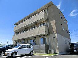 愛知県あま市小路3丁目の賃貸アパートの外観