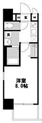 ビガーポリス143松ヶ枝町[2階]の間取り
