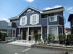 静岡県浜松市中区葵西5丁目の賃貸アパートの外観