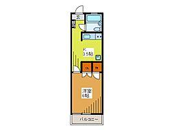 ベアーズマンション[2階]の間取り