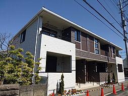 東京都八王子市諏訪町の賃貸アパートの外観