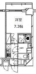 S-RESIDENCE月島(エスレジデンス月島)[5階]の間取り