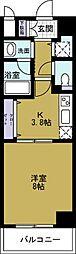 ロワジールクスノキ[4階]の間取り