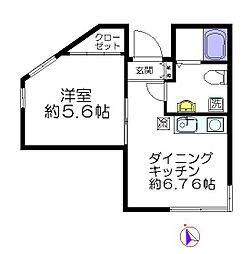 長崎マンション[1階]の間取り