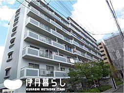 兵庫県伊丹市中央5丁目の賃貸マンションの外観