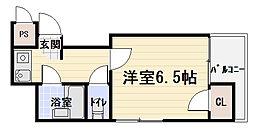 ロータリーマンション大門町[4階]の間取り