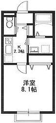 Casa Marutaka[201号室号室]の間取り