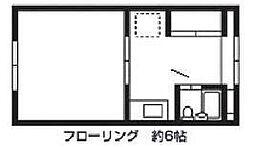 ベルノ21[114号室]の間取り