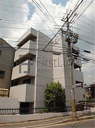 京都府京都市山科区大宅中小路町の賃貸マンションの外観