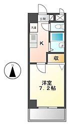 ソレイユ東海通[4階]の間取り