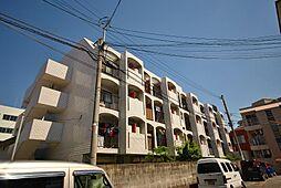 ホワイトマンション西新[2階]の外観
