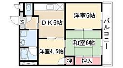 メゾン前田[303号室]の間取り