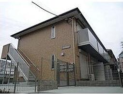 神奈川県横浜市青葉区しらとり台の賃貸アパートの外観