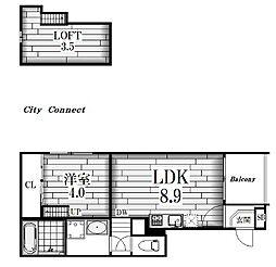 ネマーレ大曽根[2階]の間取り