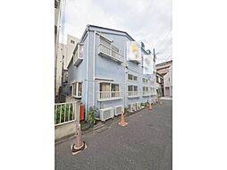 東京都調布市多摩川1丁目の賃貸アパートの外観