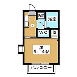 博友館[1階]の間取り