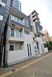 福岡県福岡市東区箱崎3丁目の賃貸アパートの外観
