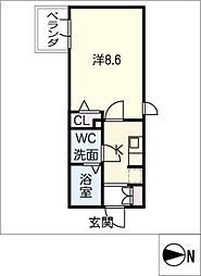 SOLEIL神宮[1階]の間取り