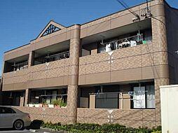 愛知県一宮市大和町毛受字西屋敷の賃貸アパートの外観