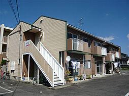 滋賀県東近江市東沖野1丁目の賃貸アパートの外観