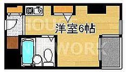 west-1[402号室号室]の間取り