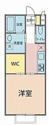 仮)生守新築アパート 1階1Kの間取り